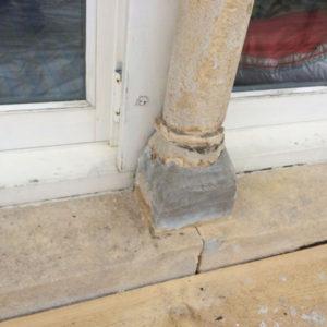 Painted stonework - Hibbitt Masonry