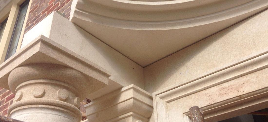 Stone-portico