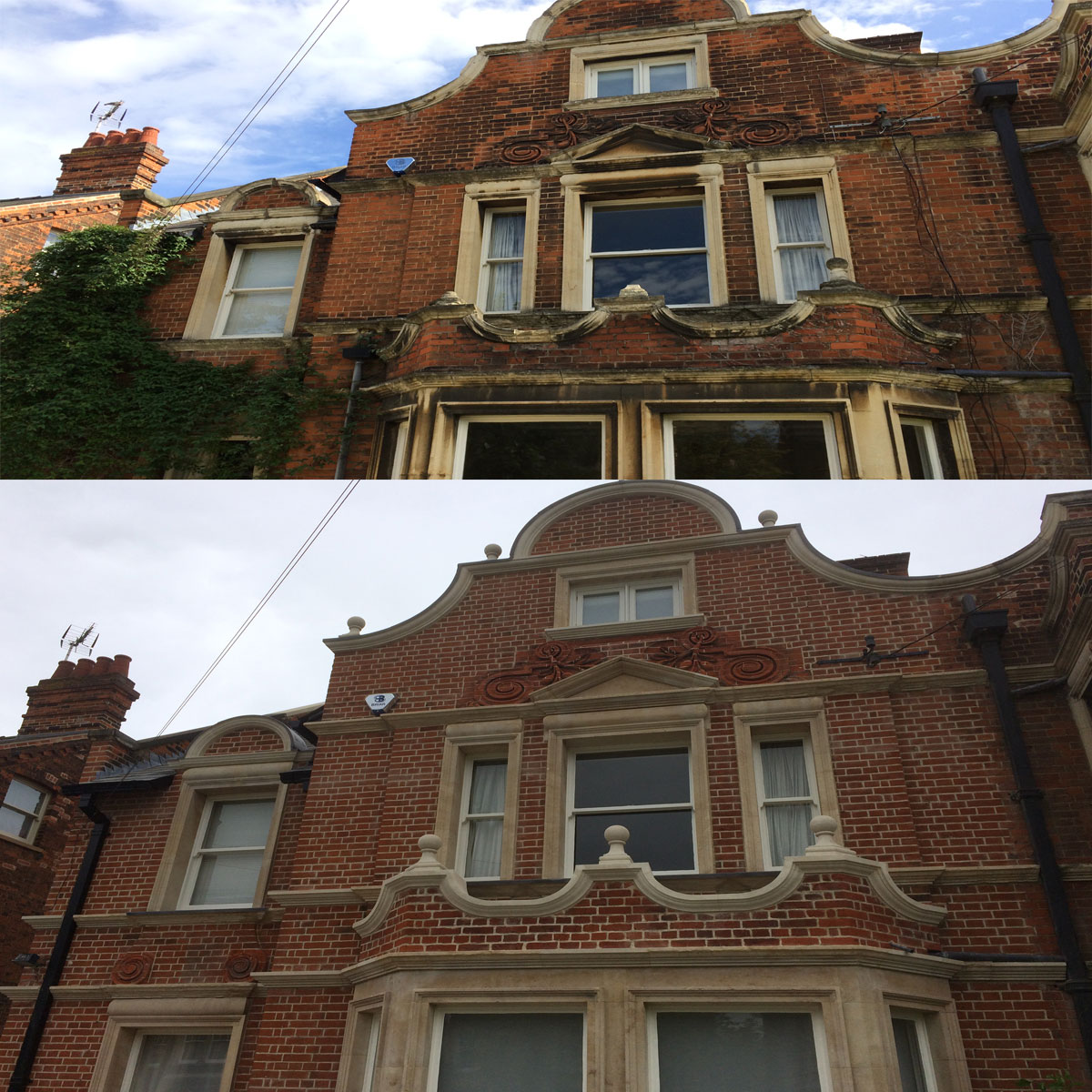 Front Facade Restoration, Private Residence, Cambridge